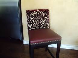 Covering Dining Room Chairs How To Reupholster Dining Chairs With Backs Upholstery Fabric For