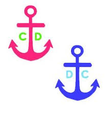 Items Similar To Nautical Anchor - cute nautical anchor decal for by haleighmichellevinyl on etsy