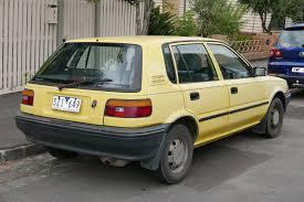 yellow toyota corolla file 1989 toyota corolla ae92 se 5 door hatchback 2016 01 04