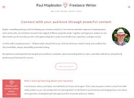 freelance writing service paul maplesden lance writing services my