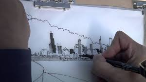 free hand drawings of an architect youtube