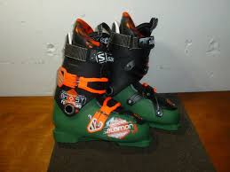 brand new salomon ghost fs 80 ski boots size 26 5 8 5 dark green