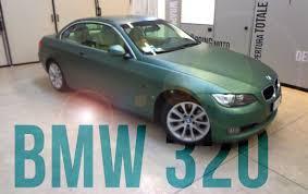 dark green bmw car wrapping bmw 320 cabrio pine green metallic youtube