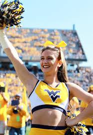 wvu cheerleader 1014 single cheerleader u2013 wvu west virginia