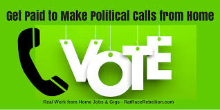 Work From Home Logo Design Jobs Get Paid To Make Political Calls From Home Real Work From Home