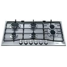gaz electrique cuisine gaz de cuisine hotpoint pc 760 f x ha table de cuisson gaz achat
