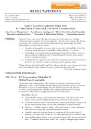 Sales Manager Resume Objective Examples by Top Combination Resume Examples