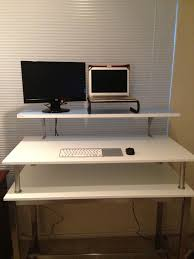 ikea computer desk hack ikea standing desk hack