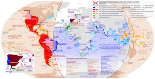 Map Of Southern Spain Diachronic Map Of The Spanish Empire 8630 4430 Mapporn
