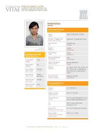 Sample Resume Yang Terbaik by Format Resume Terkini Download Youtuf Com