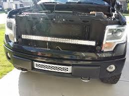 f150 bumper light bar custom ford f150 led lights f150leds com 42 led f 150 grill bar