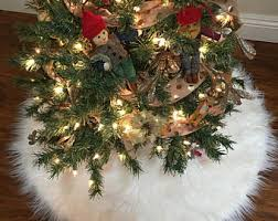 luxury tree skirt etsy