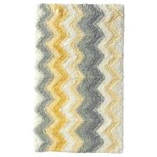 Yellow Bathroom Rugs Grey And Yellow Bathroom Rugs Collection In Yellow And Gray Bath