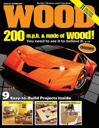 Wood Magazine Planer Reviews by Wood Issue 174 December January 2006 2007 Woodworking Plan From