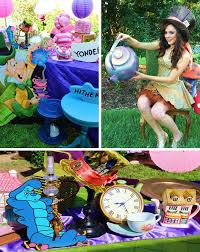 Alice In Wonderland Theme Party Decorations Teen Tween Party U2013 U2013 Kara U0027s Party Ideas