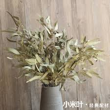 dried flowers preserved eucalyptus leaf branch dried flowers bouquet craft gift
