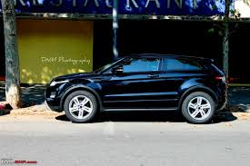 mini range rover black range rover evoque launched in india page 3 team bhp