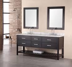 Stunning Double Bathroom Sink Cabinet Gallery Home Decorating - Floor to ceiling bathroom vanity