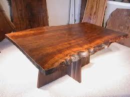 custom wood dining tables rustic 5 5 custom claro slab custom walnut dining table