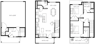 1 3 bedroom floor plans at solameer townhomes in herriman
