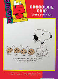 Snoopy Shower Curtain by Snoopy Cross Stitch Kit Chocolate Chip Cookies Snoopn4pnuts Com