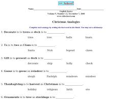 all worksheets analogy worksheets for middle free