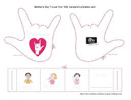 asl mom baby sign language
