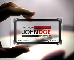 clear buisness cards how to choose a business card for your company the printing corner