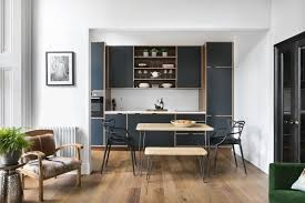 house tour a designer u0027s dramatic london apartment kitchen