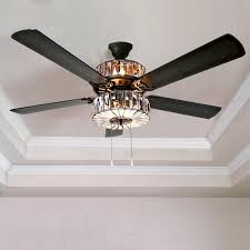 52 ceiling fan with remote crystal ceiling fans shellecaldwell com