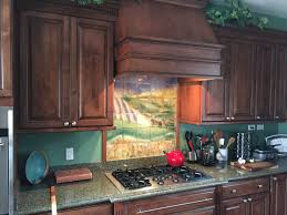Kitchen Range Backsplash Custom Kitchen Backsplash Elk On The Range A Blog Entry