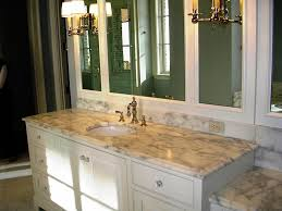 Bathroom Countertops Ideas Majestic White Granite Bathroom Countertop Marissa Kay Home