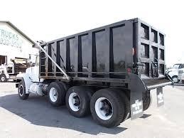 mack truck dealers used 1995 mack rd688s tri axle steel dump truck for sale 508111