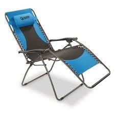 Reclining Gravity Chair Guide Gear Oversized 500 Lb Zero Gravity Chair Blue 677555