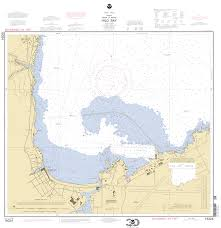 Hawaii On The Map Hilo Bay Nautical Chart νοαα Charts Maps