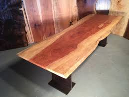 8 Dining Table 8 U0027 Bubinga Slab Custom Dining Table By Dumond U0027s Custom Furniture