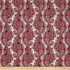 Paisley Home Decor Moda Pondicherry Paisley Pearl Discount Designer Fabric Fabric Com