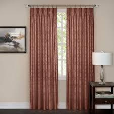 Home Depot Blackout Shades Achim Sheer Windsor Marsala Pinch Pleat Window Curtain Panel 34