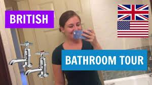British Bathroom British Bathroom Tour Uk Vs Us Bathrooms Youtube