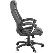 de fauteuil de bureau chaise de bureau fauteuil de bureau simili cuir en noir tectake