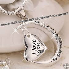I Love You To The Moon And Back Personalized Necklace I Love You To The Moon And Back Ebay