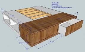 Build Bed Frame With Storage Storage Diy Bed Frame With Storage Ikea As Well As Diy Pallet