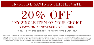 Pottery Barn Outlet Online Pottery Barn Coupons Spotify Coupon Code Free
