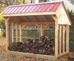 Plans To Build A Small Wood Shed by Keep Your Firewood Safe And Dry Through Wood Shed Plans