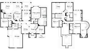 modern 2 story house plans 5 bedroom two story house plans 5 bedroom modern house plans 5