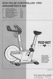 tunturi home gym e 860 user guide manualsonline com