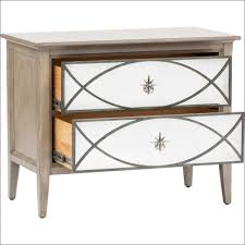 bedroom awesome gold and silver nightstand cheap glass bedside