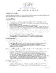 cad engineer sample resume 6 mechanical engineering examples