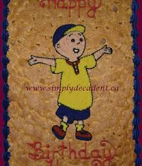 cookie gram caillou cake decorating photos