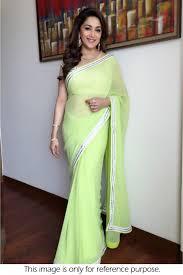 light green designer saree at rs 499 4404356 voonik india